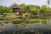 Hyangwonjong in spring