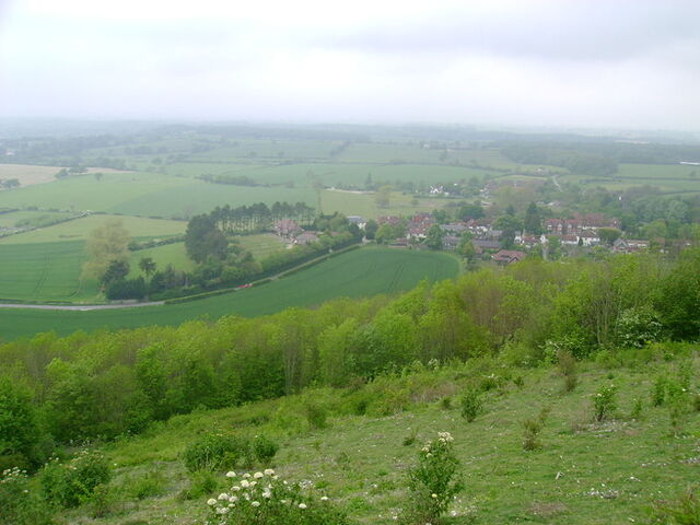 File:Poynings, from S Downs.JPG