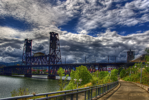 File:Steel Bridge, Portland, Oregon.jpg