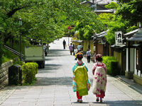 Geisha Girls in Kyoto