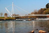 Footbridge and Weir