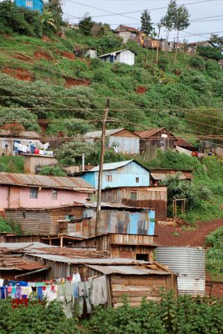 File:Kenyan Town on a Hillside.jpg