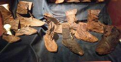 Shoes circa 1400 - Budapest