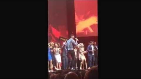 Long video of Ellen Pompeo dancing at ABC Upfront 2015