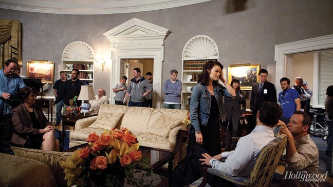 2013 THR Set Visit - Scandal Set 01