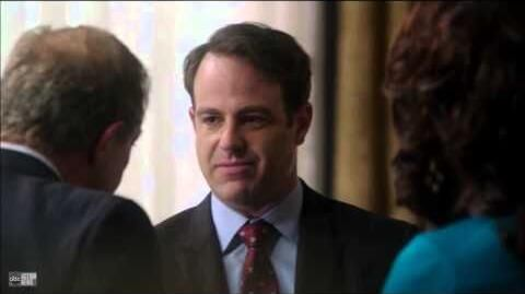 Scandal 3x5 Mellie and Cyrus in the Oval Office