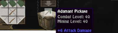 Addy pickaxe