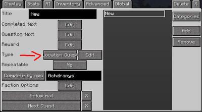 Waypoint block menu 2
