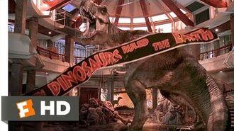 Jurassic Park (10 10) Movie CLIP - T-Rex vs. the Raptors (1993) HD