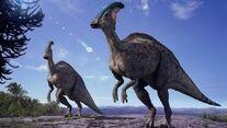 Prehistoric Park ( Wild Parasaurolophus)