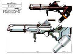AMR-B07 Alien Flamethrower
