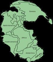 220px-Pangaea continents