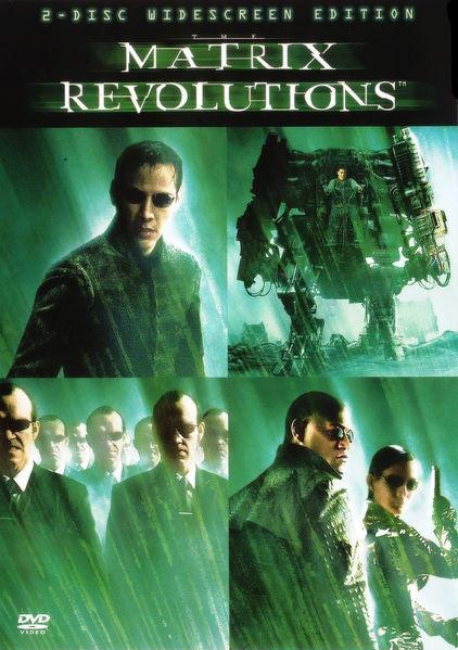 Matrix Revolutions Cover
