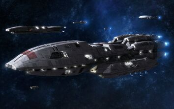 Battlestar Galactica Pegasus by killer7ben