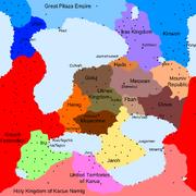 Dzajhema Political Map Minus 200