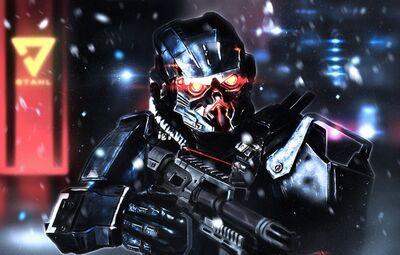 Cybran soldier