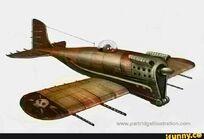 Diselepunk Monoplane