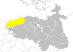 Nanzhao provinces map Inner Mongolia