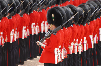 CAR Trooping Colour