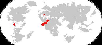 Atridean Colonial Empire Map