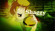 Shaggy Rogers' picture card
