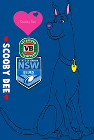State Of Origin Scooby Dee NSW VB Blues 2