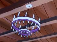 Golden Dollar's chandelier