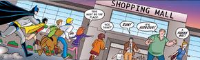 Shopping mall (Man Bat and Robbin')