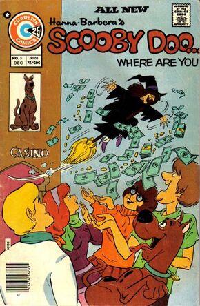 WAY 5 (Charlton Comics) front cover