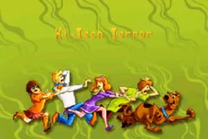 Hi-Tech Terror title card (GBA)