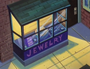 Jewelry shop (Twenty Thousand Screams Under the Sea)