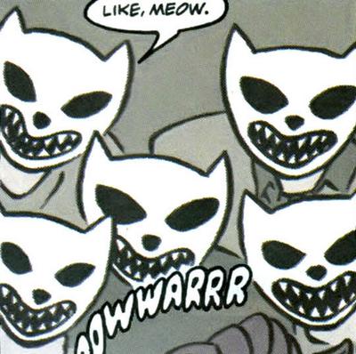 Nightmare cats
