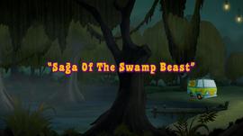 Saga of the Swamp Beast title card