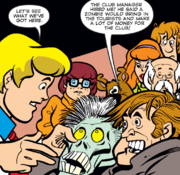 Zombie unmasked (Scooby Dooby Voodoo)