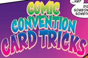 Comic Convention Card Tricks title card