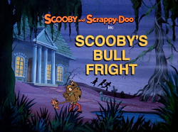 Scooby's Bull Fright title card
