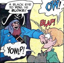 The Ghost of Redbeard comic