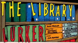 The Library Lurker title card