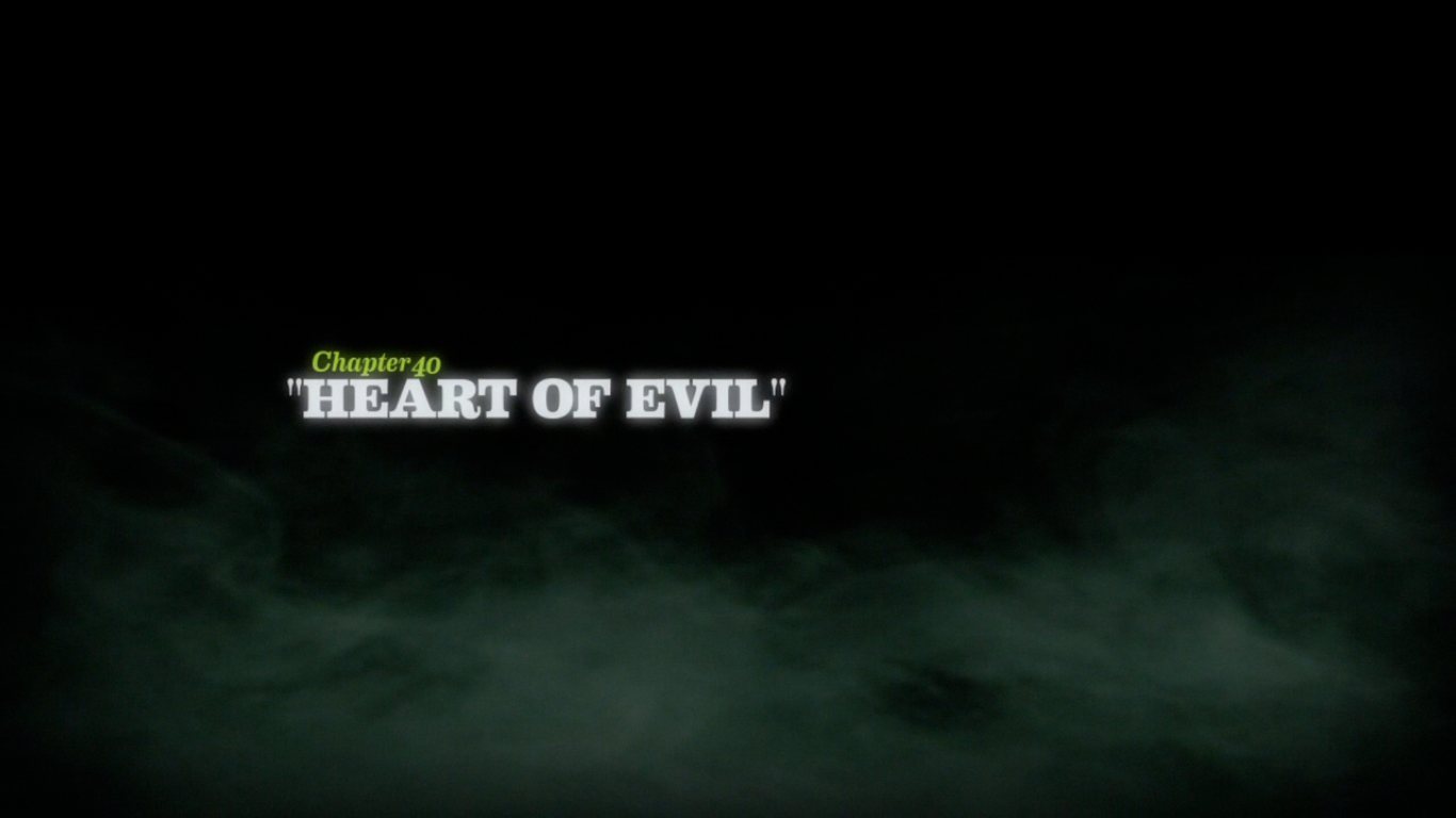Heart of Evil title card