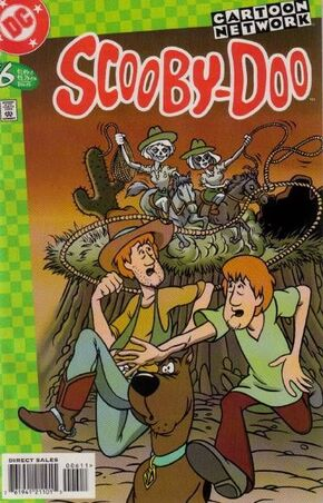 Scooby-Doo issue 6 (DC Comics) cover