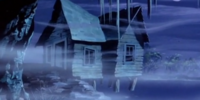 Simon Stingy's cabin