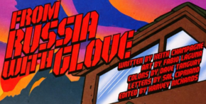 From Russia with Glove title card
