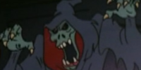 Hooded skeletal ghost (Scooby-Doo on Zombie Island)