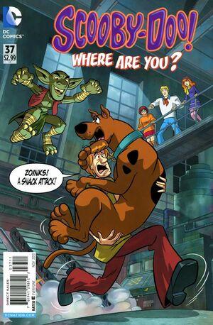 WAY 37 (DC Comics) front cover