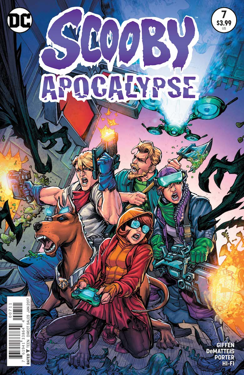 Scooby Apocalypse Issue 7 Scoobypedia Fandom Powered