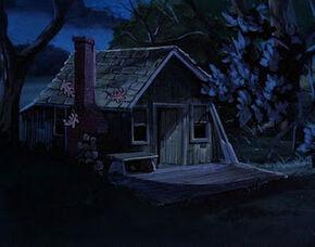 Dave Walton's cabin