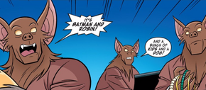 Bat-robbers (Man Bat and Robbin')