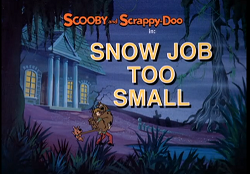 Snow Job Too Small title card