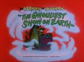 Ghouliest show title card