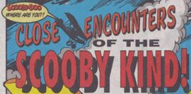 Close Encounters of the Scooby Kind! title card